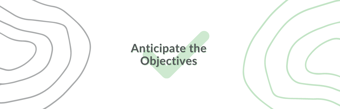 Anticipate the Objectives-2
